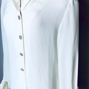 Christian Dior 1980s Blouse